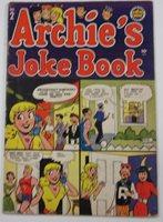 ARCHIE'S JOKE BOOK #2 1954 BOB MONTANA BETTY'S BOOTY
