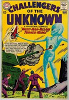 Challengers of the Unknown 30 (1962) VG/F