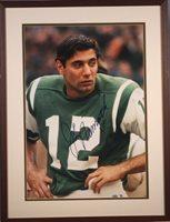 Joe Namath Autographed Photo 1