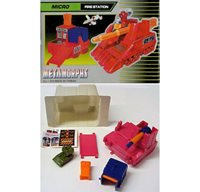k-off Boxed Transformers Gen.1 Micro battle station HOTHOUSE