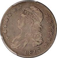 1817 Capped Bust Half Dollar PCGS VF35 O-106a