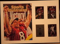 Steve Young Autographed Sports Illustrated Collage