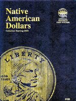 Native American Dollar Folder (starting 2009)Native American Dollar Folder (starting 2009)