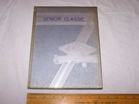 1955 REELSVILLE INDIANA High School Annual Yearbook - Grades 1-12 - Local Ads