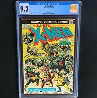 X-MEN #96  CGC 9.2  1ST APPEARANCE of MOIRA MACTAGGERT! Marvel Comics 1975