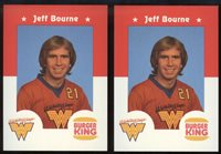 1982-83 Wichita Wings Soccer 2-Card Player Lots - Choose from List, Scarce!