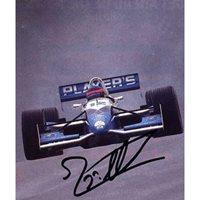 Jacques Villeneuve genuine original authentic signed autograph