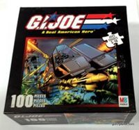 GI JOE Real American Hero Destros Dominator Puzzle (mib)