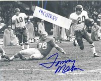 Tommy Mason 1961 Minnesota Vikings Autographed Signed 8x10 Photo 4 COA DECEASED