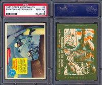 1963 TOPPS ASTRONAUTS #2 FLOATING ASTRONAU PSA 8 (4702)