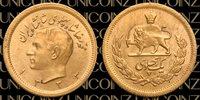 Sh1333 (1954) One (1) Pahlavi gold Coin 1333 (1954) Mohammadreza Shah Rare