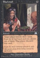 Blackmail (Uncommon) Near Mint Normal English - Magic the Gathering - Onslaught