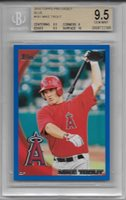 2010 Mike Trout Topps Pro Debut Blue RC- BGS 9.5 Gem Mint w/10 sub... #184/259