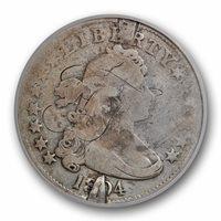 1804 25C PCGS Genuine