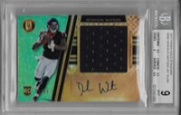 2017 Deshaun Watson Gold Standard Auto Patch RC- BGS 9 Mint w/9.5 subs...32/49