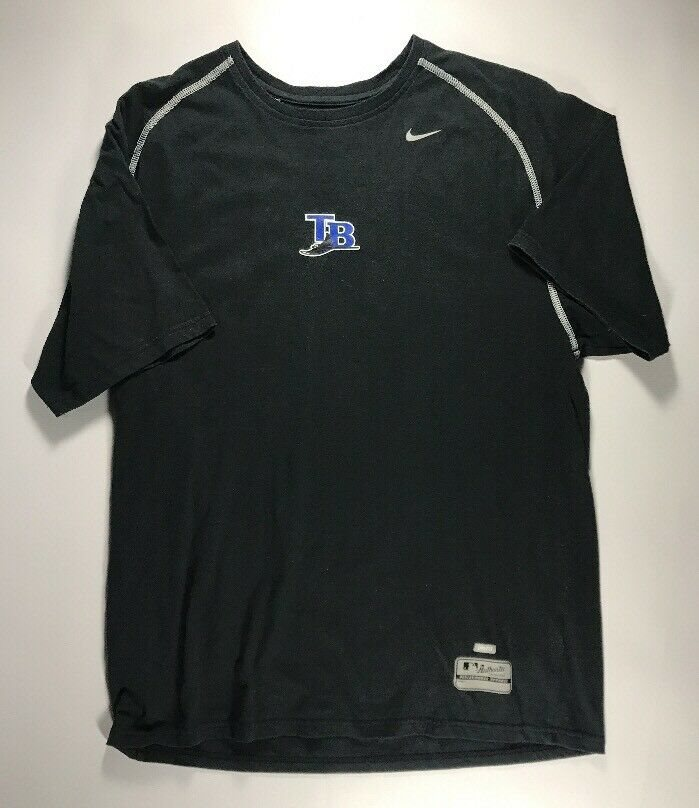 buy online 3959a e0ad0 Vintage Tampa Bay Rays Nike Dri Fit Shirt Size Medium