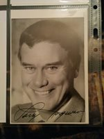 Larry Hagman Hand-Signed Autograph With Lifetime Guarantee