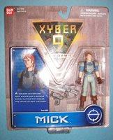 "XYBER 9 New Dawn MICK 4"" Collectible Figure NIP - 1999 Ban Dai"