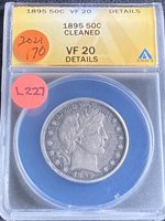 1895 Barber Half Dollar L227