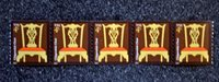 2007USA #3761 4c Chippendale Chair - Coil Strip of 5 Mint NH