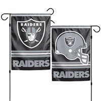 Oakland Raiders Wincraft NFL 12x18 Double Sided Garden Flag, FREE SHIP!