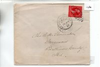 United States - (76) Commercial Cover - 1901 - pmk. Bedford City