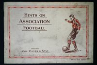 Hints on Association Football Collectible Rugby Card Book