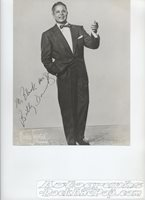 Billy Daniels - autographed promo #555