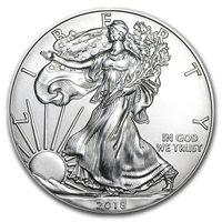 2018 $1 American Silver Eagle Brilliant Uncirculated