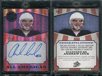 2012 Press Pass All American AAAL Andrew Luck Autograph #2/50