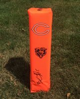 Chicago Bears #15 BRANDON MARSHALL Signed Autographed Football Pylon COA!