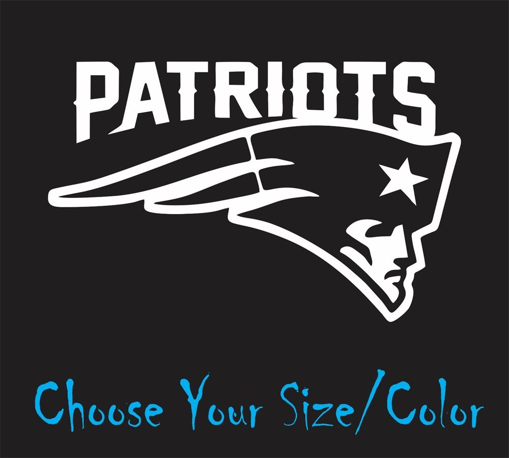 New England Patriots Football Vinyl Decal Sticker For N