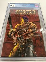 Avatar Illustrated 1999 Tim Vigil Faust cover Early GOON app Eric Powell CGC 9.2
