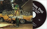 Snoop Dogg Autograph *Let's Get Blown* Hand Signed CD