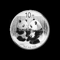 2009 1 oz Silver Panda Coin