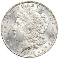 1885-O $1 NGC MS64