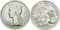 2 Francs 1964 (a) Comoros Coin, Paris, Essai, Aluminum, Km:e2