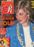 PRINCESS DIANA ~ UK Royalty Monthly Magazine Vol. 6 No 9 June 1987 6/87 ~~ D-4-1