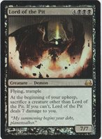 MAGIC The Gathering {Lord of the Pit} Creature- Demon FOIL NM!