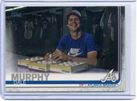 2019 Topps Series 2 DALE MURPHY #385 SP SHORT PRINT VARIATION BRAVES