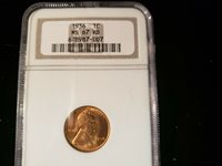 1936 LINCOLN CENT NGC MS 67RD 678987-007