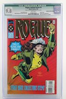Rogue Limited Series #1 -MINT- CGC 9.8 NM/MT - Marvel 1995 - Gold foil - ERROR!