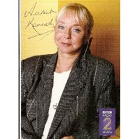 Sarah Kennedy - signed colour promo postcard. Sarah Kennedy.