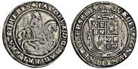 James I (1603-25), Halfcrown, third coinage, 18.84g, m.m. trefoi...