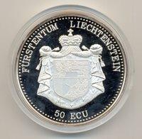1995 LIECHTENSTEIN 5OZ SILVER COIN