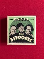 "1930's, The 3 Stooges, (16MM) ""EXCEL MOVIES"" (Scarce) (Moe / Larry / Curly)"