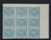 CSA7 XF-NH showpiece block of 9 with PSE certificate nice color ! see pic !