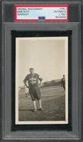 1927 Circa Babe Ruth Barnstorming Tour Original Type 1 Snapshot Photograph (PSA/DNA)