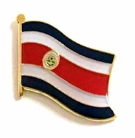 COSTA RICA LAPEL HAT FLAG PIN - NEW