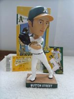 2006-OAKLAND A'S-#20-Huston Street-SGA-Ticket,Schedule & Bobblehead..